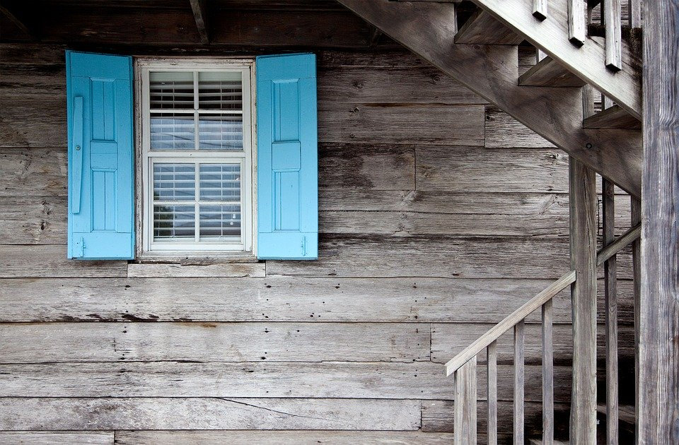 Architecture Window Wooden House Shutters